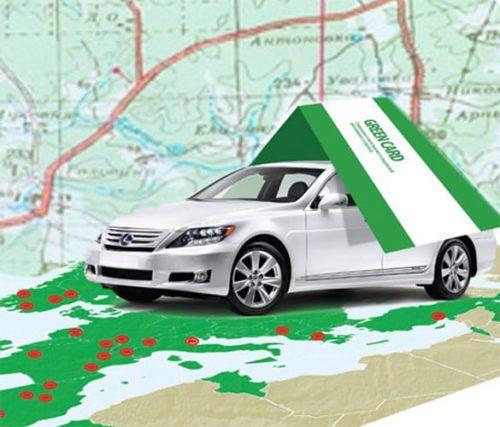 Страховой полис Green Card